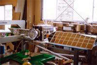 人工衛星の模型