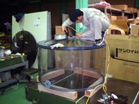 円筒タンク溶接