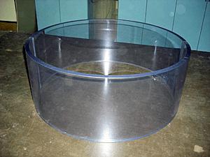 塩ビ円筒溶接