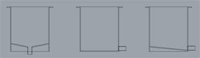 円筒タンク代表的な形状